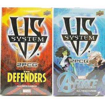 Vs System 2PCG: A-Force & the Defenders Expansions Combo (Upper Deck)