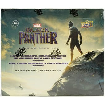 Marvel Black Panther Trading Cards Box (Upper Deck 2018)