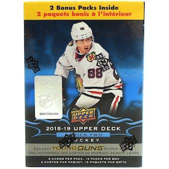 2018/19 Upper Deck Series 2 Hockey 12-Pack Box