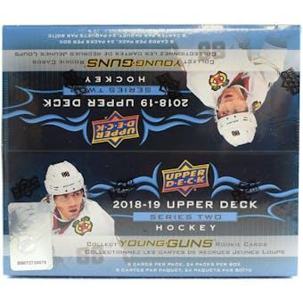 2018/19 Upper Deck Series 2 Hockey 24-Pack Box