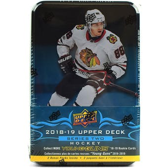 2018/19 Upper Deck Series 2 Hockey Tin (Box)
