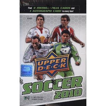 2010 Upper Deck Soccer Hobby Box