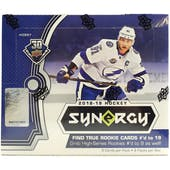 2018/19 Upper Deck Synergy Hockey Hobby Box