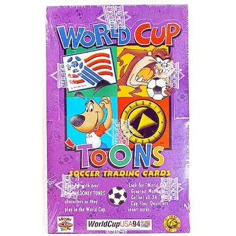 1994 Looney Tunes World Cup Soccer Box