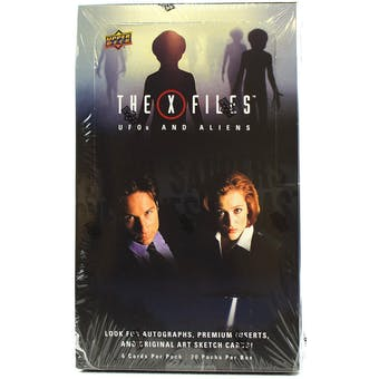 The X-Files UFO's and Aliens Edition Trading Cards Box (Upper Deck 2019)