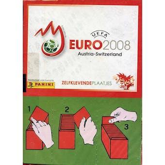 2008 Panini UEFA Euro Cup Soccer Sticker Box