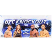 2018 Topps UFC Knockout Hobby Box