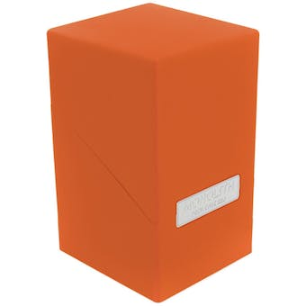 Ultimate Guard Monolith Deck Case 100+ Standard Size Orange