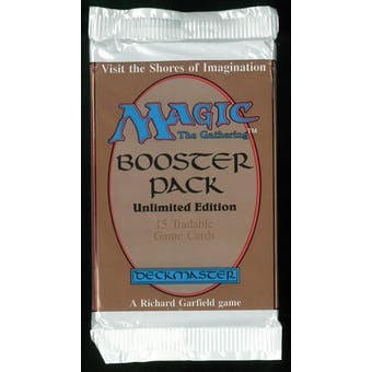 Magic the Gathering Unlimited Booster Pack - UNSEARCHED (very thick wrap) #3