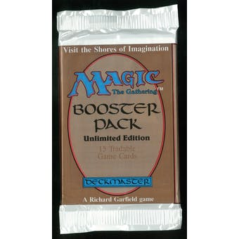 Magic the Gathering Unlimited Booster Pack - UNSEARCHED (very thick wrap) #4