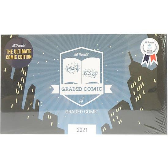 2021 Hit Parade ULTIMATE Graded Comic Ed 1-Box Ser 1- DACW Live 5 Spot Break #3