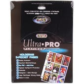 Ultra Pro Platinum 9-Pocket Pages (100 Count Box)
