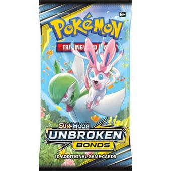 Pokemon Sun & Moon: Unbroken Bonds Booster Pack