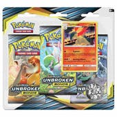 Pokemon Sun & Moon: Unbroken Bonds 3 Booster Pack Blister