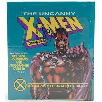 X-Men Series 1 (Uncanny X-Men) Wax Box (1992 Impel)