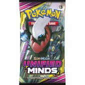 Pokemon Sun & Moon: Unified Minds Booster Pack