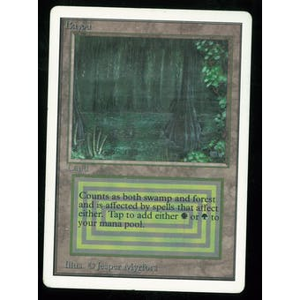 Magic the Gathering Unlimited Single Bayou - MODERATE PLAY plus (MP+)