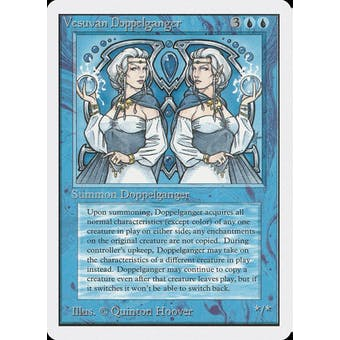 Magic the Gathering Unlimited Single Vesuvan Doppelganger - MODERATE PLAY (MP) Sick Deal Pricing