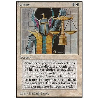 Magic the Gathering Unlimited Single Balance - NEAR MINT (NM)