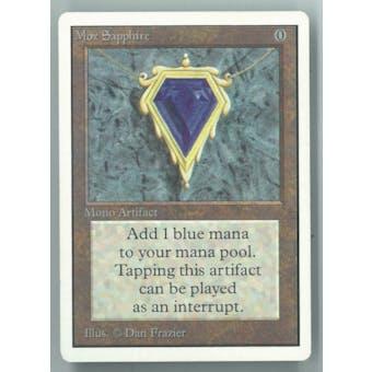 Magic the Gathering Unlimited Single Mox Sapphire - NEAR MINT (NM)