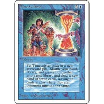 Magic the Gathering Unlimited Single Timetwister - NEAR MINT (NM)