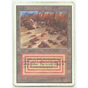Magic the Gathering Unlimited Single Plateau - HEAVY PLAY (HP)