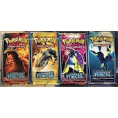 Pokemon EX Unseen Forces 4 Booster Pack ART SET