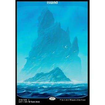Magic the Gathering Unstable Single Island FOIL - NEAR MINT (NM)