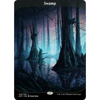 Magic the Gathering Unstable Single Swamp FOIL - NEAR MINT (NM)