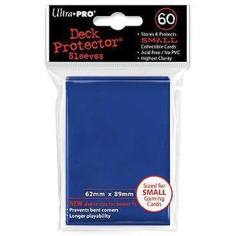 Ultra Pro Yu-Gi-Oh! Size Blue Deck Protectors (60 Count Pack)