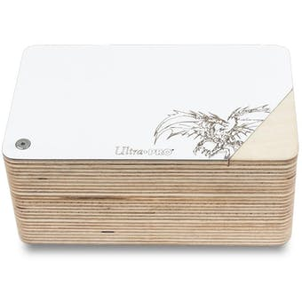 CLOSEOUT - ULTRA PRO THE ARK WOOD DECK BOX WITH COUNTER - 6 BOX CASE