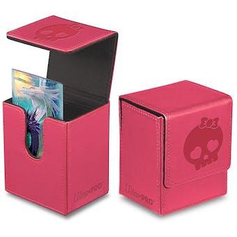 Ultra Pro Pink Flip Deck Box