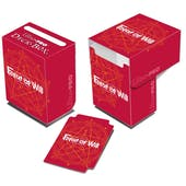 Ultra Pro Force of Will Red Deck Box 60ct Case
