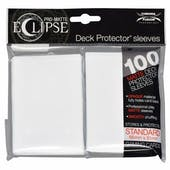 Ultra Pro Matte Eclipse Card Sleeves - Arctic White (100 Ct.)