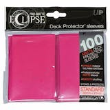 Ultra Pro Matte Eclipse Card Sleeves - Hot Pink (100 Ct.)