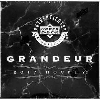 2017 Upper Deck Grandeur Hockey Coin Collection Box