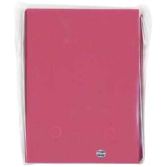 CLOSEOUT - ULTRA PRO PINK 50 COUNT DECK PROTECTORS - LOT OF 12