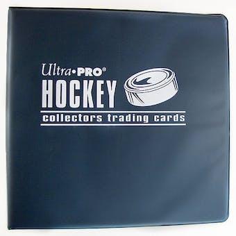 "Ultra Pro 3"" Blue Hockey Card Collectors Album"