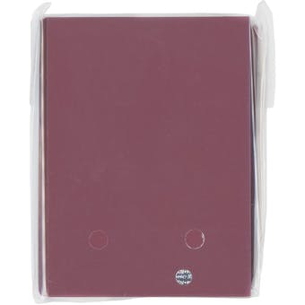 CLOSEOUT - ULTRA PRO BLACK CHERRY 50 COUNT DECK PROTECTORS