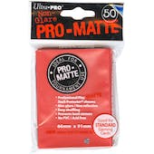 Ultra Pro Pro-Matte Red Deck Protectors (50 count pack)