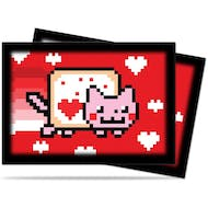 Ultra Pro ValentNyan Cat Small-Size Deck Protectors 60ct Pack