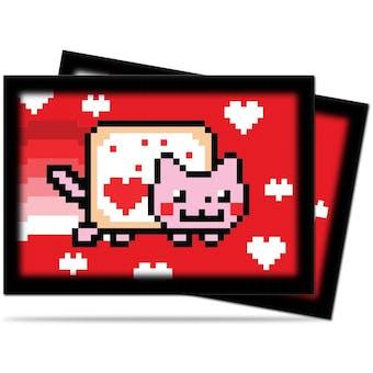 Ultra Pro ValentNyan Cat Small-Size Deck Protectors 60ct Pack