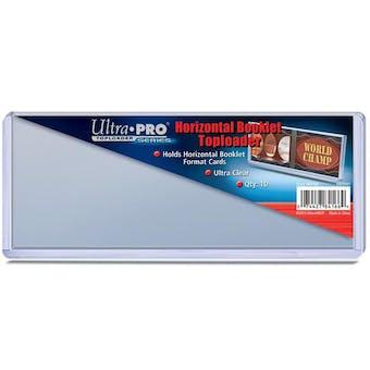 Ultra Pro Horizontal Booklet Toploader Pack (10 Count)