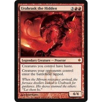 Magic the Gathering New Phyrexia Single Urabrask the Hidden - NEAR MINT (NM)