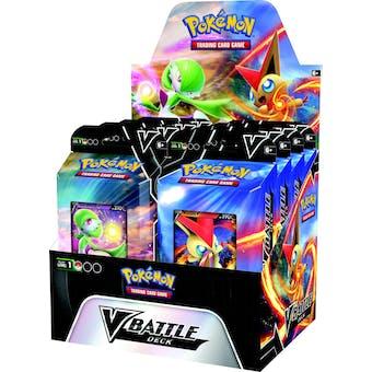 Pokemon Victini V and Gardevoir V Battle Deck Box