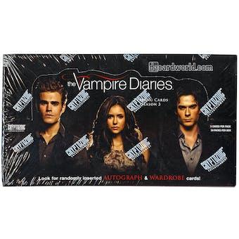 The Vampire Diaries Season 3 Trading Cards Box (Cryptozoic 2014)