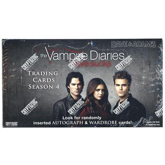 The Vampire Diaries Season 4 Trading Cards Box (Cryptozoic 2016)