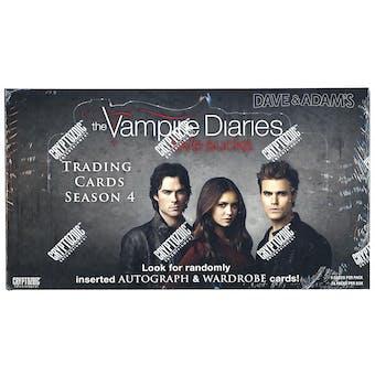 The Vampire Diaries Season 4 Trading Cards Box (Cryptozoic 2016)