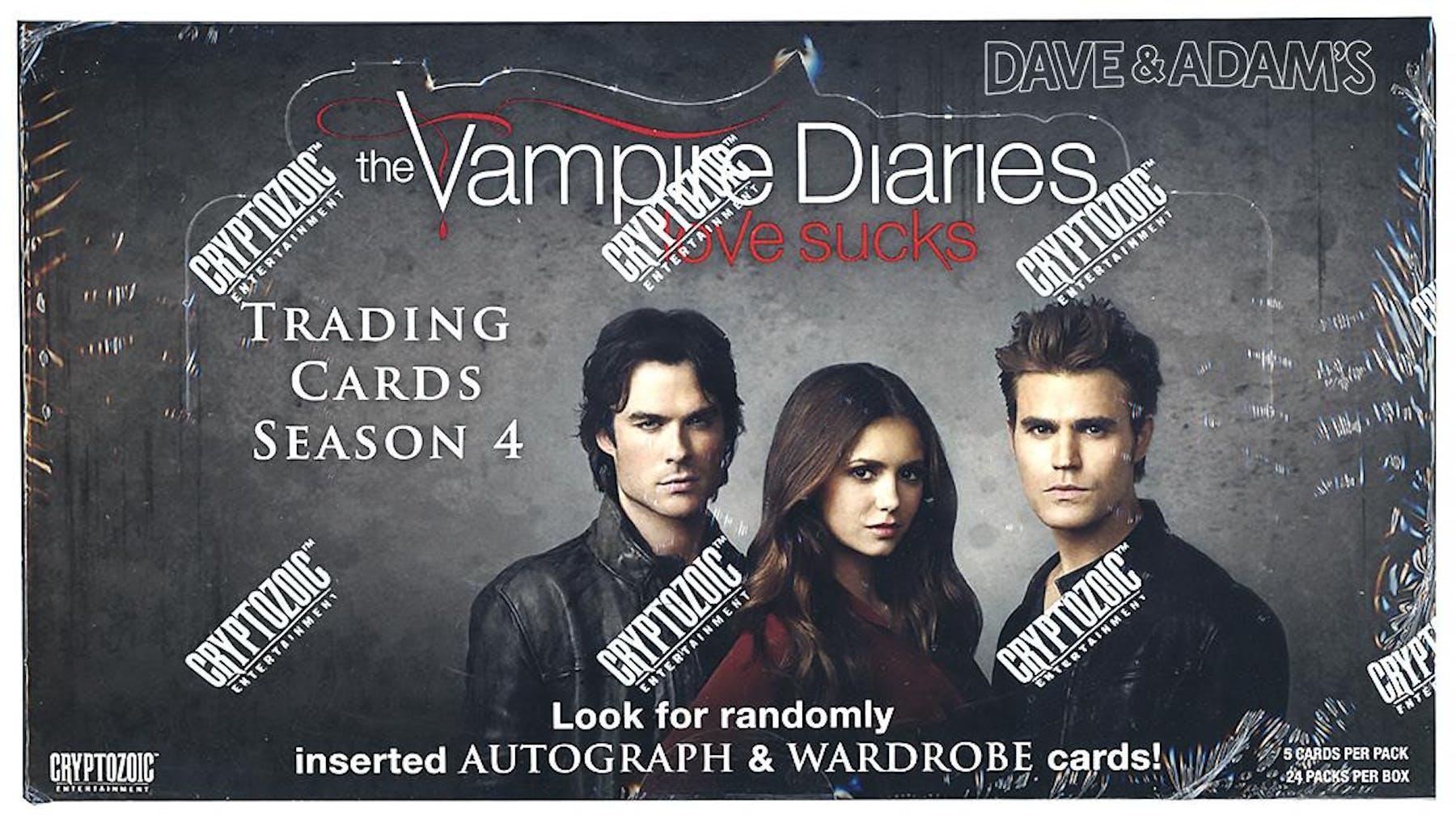 The Vampire Diaries Season 4 Trading Cards Box (Cryptozoic 2016