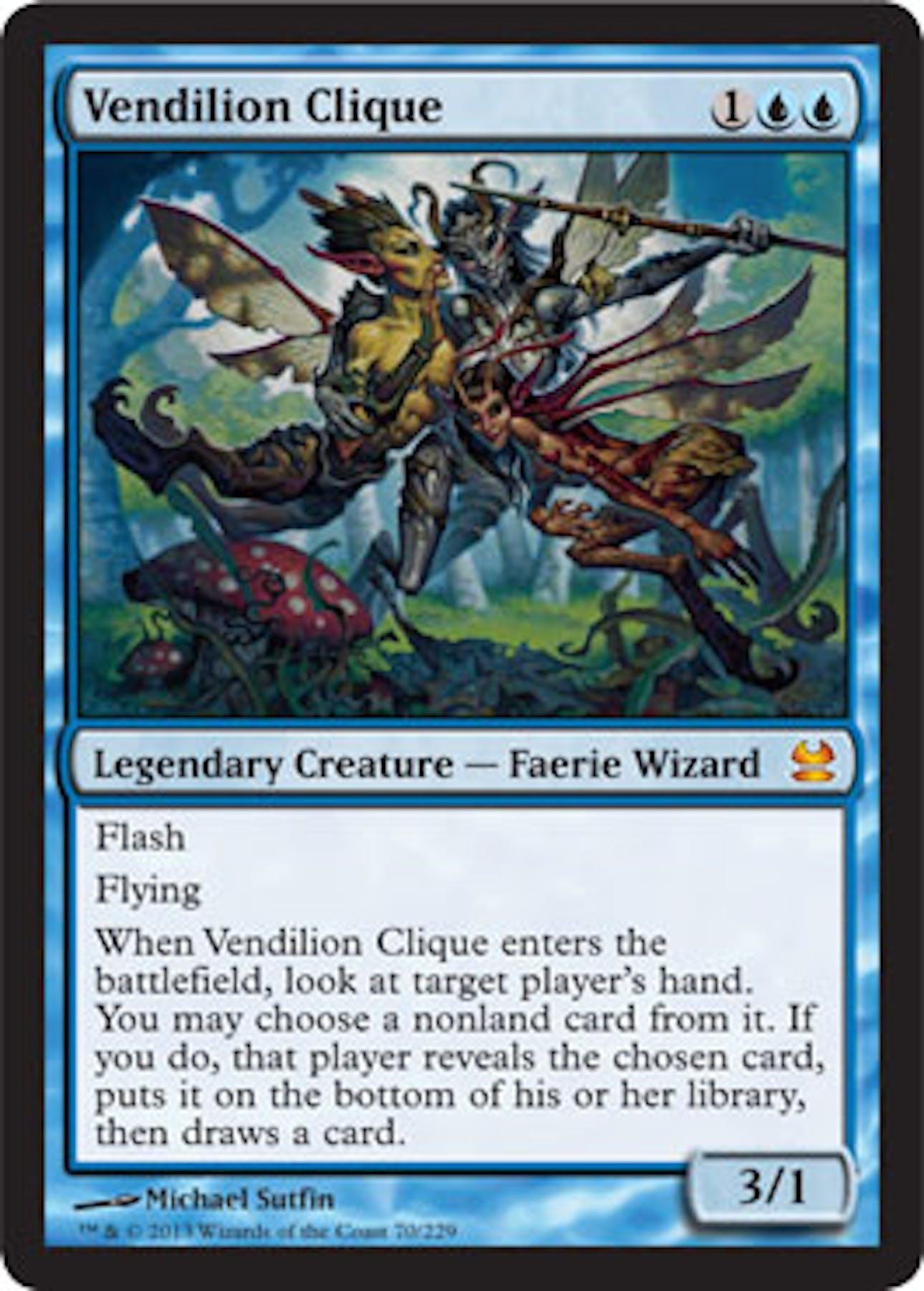 magic the gathering modern masters single vendilion clique
